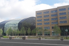 modernes energiesparendes  Gebäude