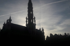 Kirche auf einem öffentlichen Platz