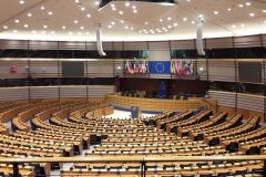 Plenarsaal im EU-Parlament