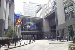 Fasade des EU-Parlaments