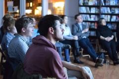 Publikum während des Filmbeitrages