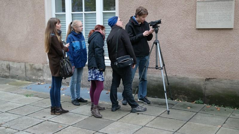 Multimediaprojekt Stolpersteine