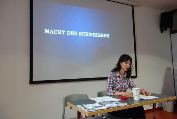 Lesung von Chantal zu Widerstand im NS-Regime am Beispiel von Georg Elser