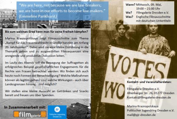 Suffragette Filmabend