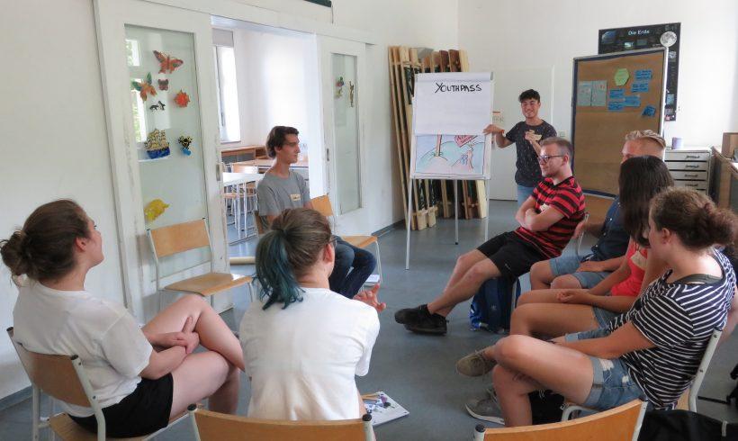 Vorstellung des Europäischen Freiwilligendienstes