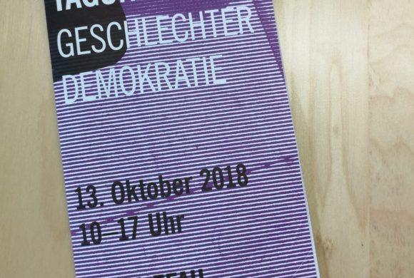 Geschlechterdemokratie – Tagungsrückblick