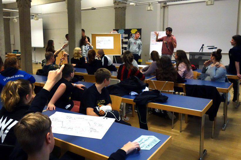 Demokratiebesuch in Dresden: Workshop Beteiligung