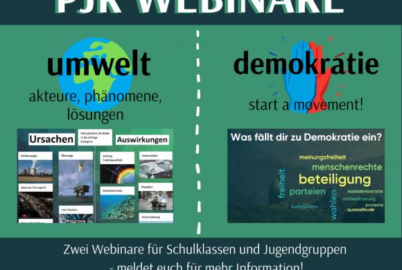 Zwei neue Webinare im Bildungsangebot