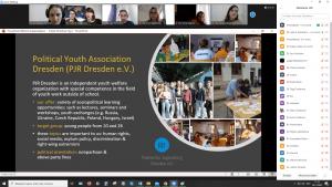 Screenshot aus dem Online Seminar