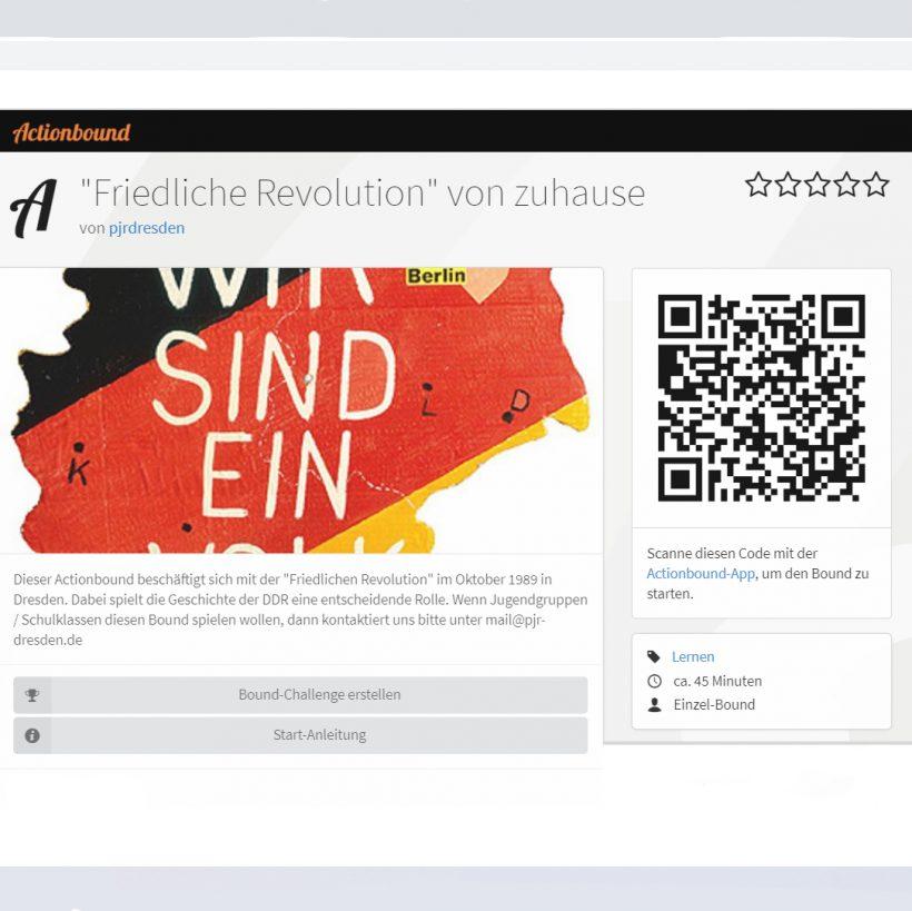 Online-Tour zur Friedlichen Revolution / DDR